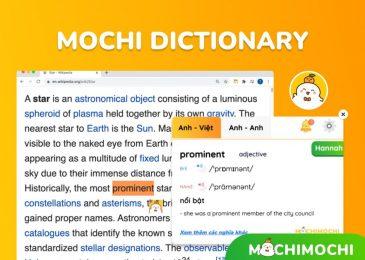 Mochi Dictionary là gì? Cách cài đặt và sử dụng Mochi Dictionary?